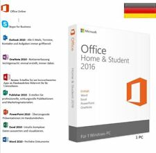 Vollversion Microsoft Office Home and Student 2016 Digitale Product Key Download
