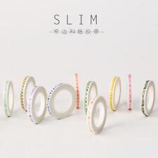 Super thin 5mm Japan Washi Tape flowers 7M MT080
