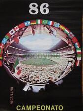 1986 MEXICO XIII FIFA SOCCER WORLD CUP FUTBOL FOOTBALL ORIGINAL MEXICAN POSTER 4