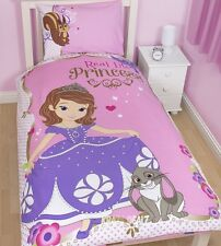 Princess Sofia the First Amulet Single Duvet Cover Bed Set Ariel Winter New Gift