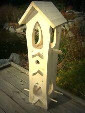 Vogelhaus, Vogelvilla B, zum selbst bemalen, Top Ware