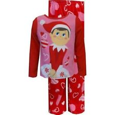 ELF ON THE SHELF Girls 4 2-Piece Fleece Pajama Set ~ NWT ~ MSRP $28