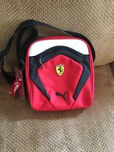 Puma Ferrari  SF  Portable Messenger Red Bag  NWT