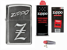 Zippo Z Emblem + Starter Pack mit Benzin,Docht,Feuersteine 2004309