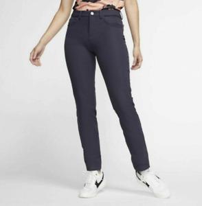 NWT$100 Nike Golf Water Repel Women Pants Purple AT3327 015