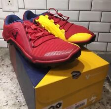 New! Vivobarefoot Primus Trail M Running Shoes. PBT Red Yellow. EU 42 US 9