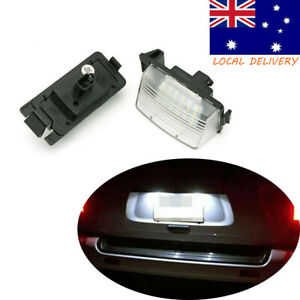 2PCS License Plate Lights Tai Lamps Assembly Led For Nissan 350Z 370Z GTR R35