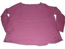 Esprit toller leichter Strick Pullover Gr. XL rosa-grau gestreift !!