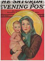 Saturday Evening Post December 17 1932 Ellen Pyle Christmas Gen Wood Philippines