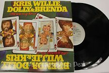 "The Winning Hand - WILLIE, DOLLY, KRIS & BRENDA 2LPs 12"" (VG)"