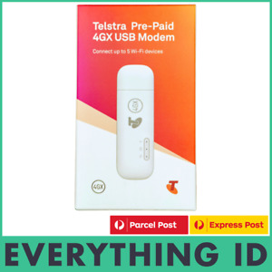 TELSTRA PREPAID 4GX 4G E8372 USB + WIFI MODEM HOTSPOT MOBILE BROADBAND DONGLE