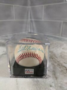 Ted Williams Single Signed Baseball Autographed AUTO PSA 7.5 Sealed Cube 7/8