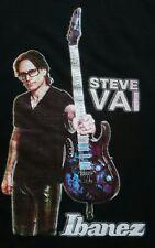 2015 Steve Vai Ibanez Tour Shirt L Large Shred Guitar G3 Malmsteen Satriani