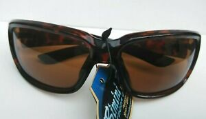 Bimini Bay Sunglasses T-BB4A tortoise shell RUBBER ARMS frame AMBER Lens