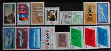 Germany Complete Year 1980 Stamp Set + C/Ds & Mini Sheet MNH German Stamps