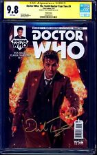 Doctor Who Tenth Dr Year Two #9 PHOTO VARIANT CGC SS 9.8 signed David Tennant