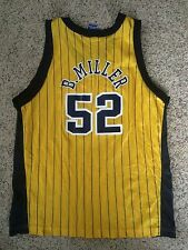 Vtg 90'S CHAMPION Brad MILLER INDIANA PACERS NBA JERSEY YOUTH XL 18-20 Purdue
