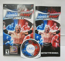 WWE Smackdown Vs. Raw 2007 Sony PSP Game Complete