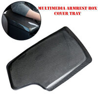 Carbon Fiber ABS Center Console Armrest Box Cover Tray For BMW 3 Series 4 Series