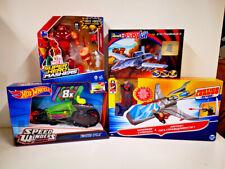 4-tlg. Spielwarenset v. Mattel Revell Hasbro Marvel DC Figuren Spielzeug NEU OVP