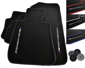 M /// Performance Floor Mats For BMW Color Rounds Fits LHD Car Models 1990-2018