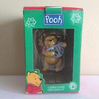 Seasonal Specialties Disney Winnie the Pooh as an Angel Christmas Tree Ornament