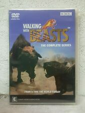WALKING WITH BEASTS - DVD - Complete Series - 3 HOURS ! - DINOSAUR DOCUMENTARY