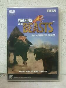 WALKING WITH BEASTS DVD - Complete Series - 3 HOURS ! - DINOSAUR DOCUMENTARY