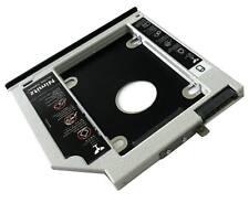 2ND zweite HDD SSD Festplatten caddy für HP EliteBook 2530p 2540p