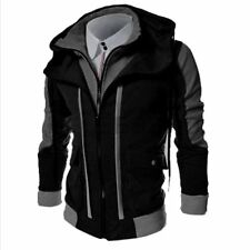 Mens Outwear Sweater Winter Hoodie Warm Coat Baseball Jacket Sweatshirt Overcoat