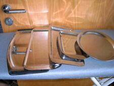 5 verschiedene Servierplatten Servier-Teller Servier-Tablett Edelstahl gebraucht