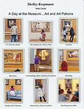 """""""A Day at the Museum"""" - box of 9 Assorted Notecards"""