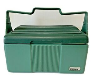 Vintage Stanley Aladdin Insulated Plastic Lunch Box Only Green