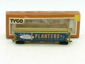 TYCO Trains HO SAL Planters Peanuts Covered Hopper 23090 with Box 359C