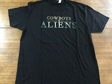 Cowboys & Aliens San Diego  Movie Promo Mens Shirt Size XL