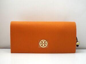 TORY BURCH Original Sunglasses Orange Pouch Case & Microbag