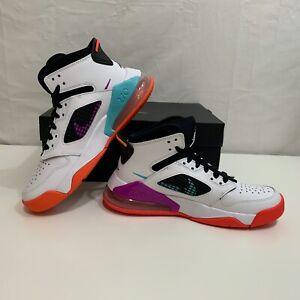 Nike Boys NIB Jordan Mars 270 White Hyper Violet Sz 4.5Y or 5Y Style BQ6508 102