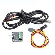 DS18B20 Temperatursensor-Modul Kit Wasserdicht 100CM Digitaler Sensor Kabel JKSY