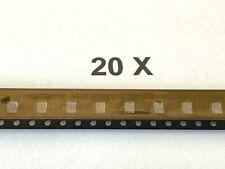 HSMV-A430-Y90M1, LED Rot-Orange, 50mA, 2,8V, 5000mcd,SMD, PLCC4, AVAGO, 20 Stück