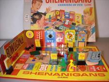 VINTAGE 1966 MILTON BRADLEY SHENANIGANS CARNIVAL OF FUN BOARD GAME #4480