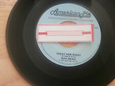 ROY HEAD~TREAT HER RIGHT/CRICKETS~THINK IT....~Unplayed Soul 45~Jukebox Re-issue