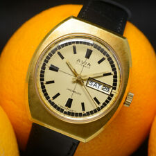 Vintage 1970s AVIA hand-wind watch, 17 jewels, calibre AS 1914, Swiss, serviced