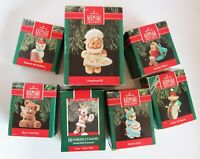 Lot 7 Hallmark Keepsake Christmas Ornaments 1989, 1990 - s#4
