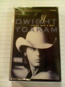 NOS Audio Cassette Tape Dwight Yoakam  If There Was a Way  Country Music BMG