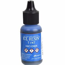 ICE Resin Tint, Hacienda Blue, 1/2 oz. bottle, GROUND SHIPPING Only, pnt0037