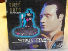 """Data and Borg Queen 6"""" Cold Cast Diorama """"open Box"""" 1 out of 5000"""