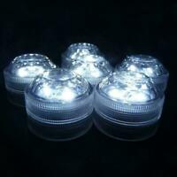 Submersible Waterproof Battery Operated TRIPLE LED Tea Floralyte Lights Dia J6V6