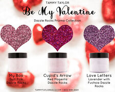 """Tammy Taylor Nail - Limited edition Collection """"BE MY VALENTINE""""  Dazzle Rocks"""