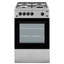 Cucina a gas 50x50 Forno elettrico  Inox Beko CSS42014FS
