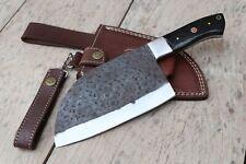 SERBIAN CHEF KNIFE, Hand Forged Meat Knife, Butcher Knife, Kitchen Knife
